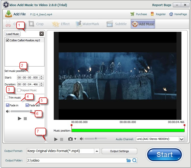 add video subtitles