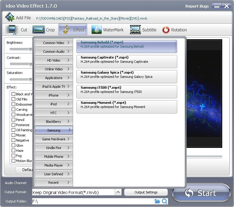 video effect software