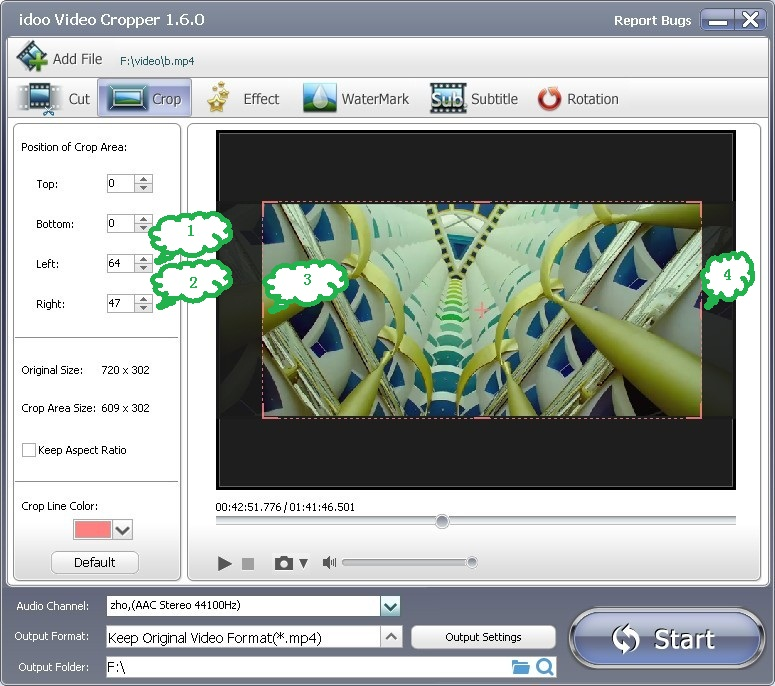 how to change video file