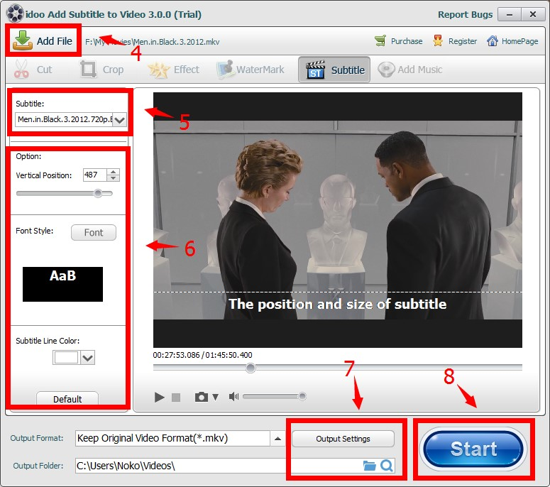 How to add subtitle to mkv video files about idoo add subtitle to video ccuart Gallery