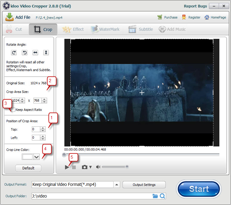 Video Cropper No Download